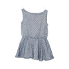 EXCLUSIVE TO US Fit & Flare Dress Blue Dotted Cotton