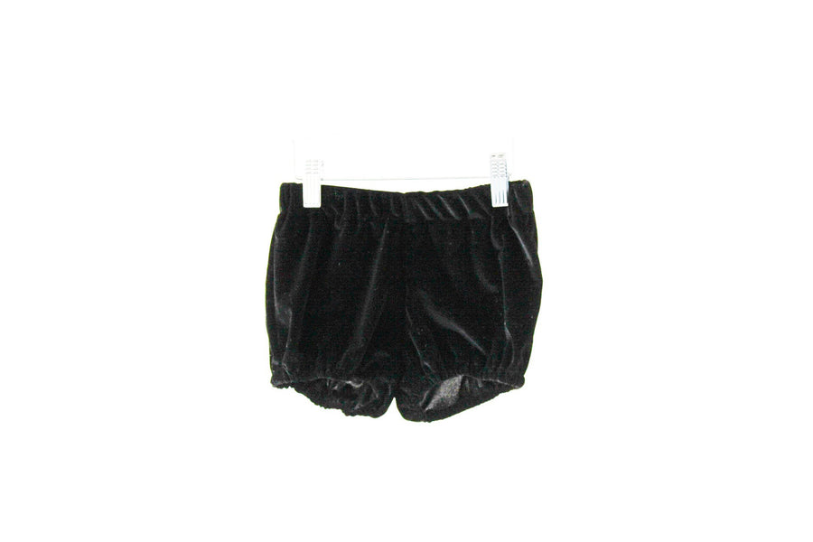 Bloomers Smooth Black Velvet