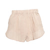 Pantai Short Cream Cotton Linen
