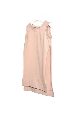 Split Vest Dusty Rose