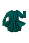Keyhole Dress Emerald