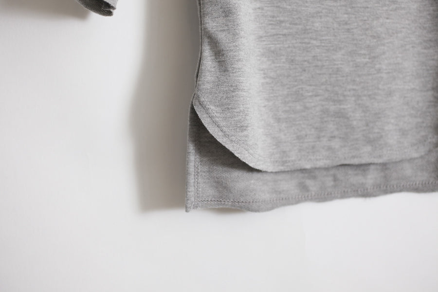 Tunic Gray French Terry