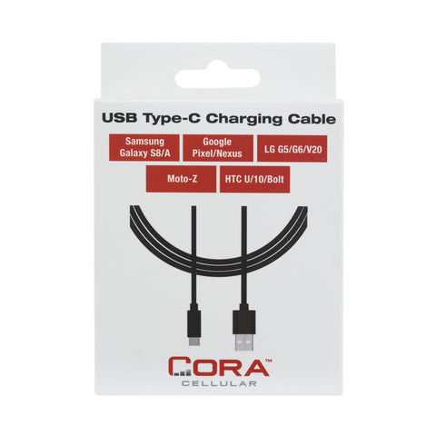 USB-C Charging Cable for New: Samsung S8, Note 8, Google Pixel, LG, HTC, Moto-Z