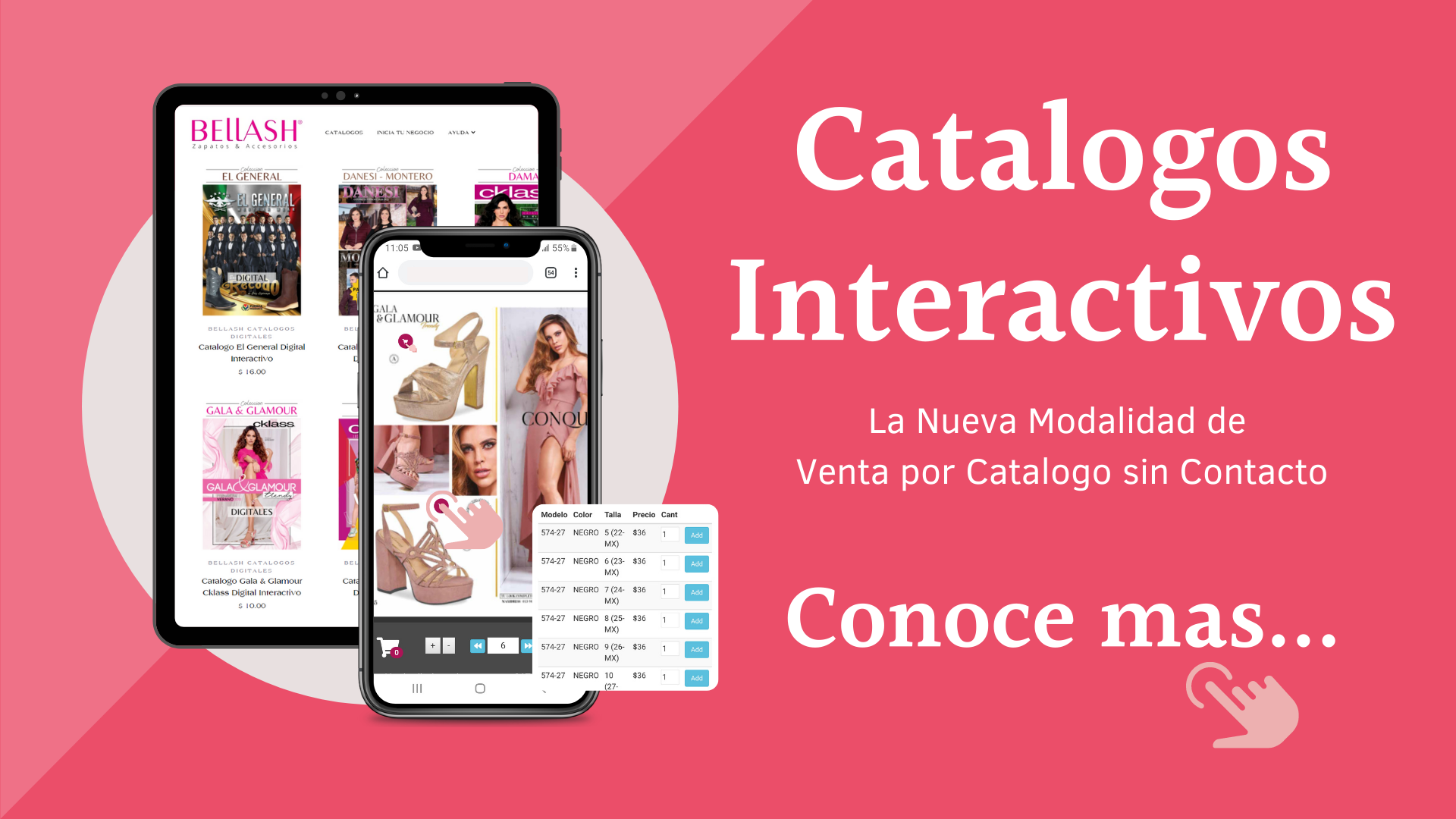 CATALOGOS DIGITALES INTERACTIVOS - CONOCE MAS