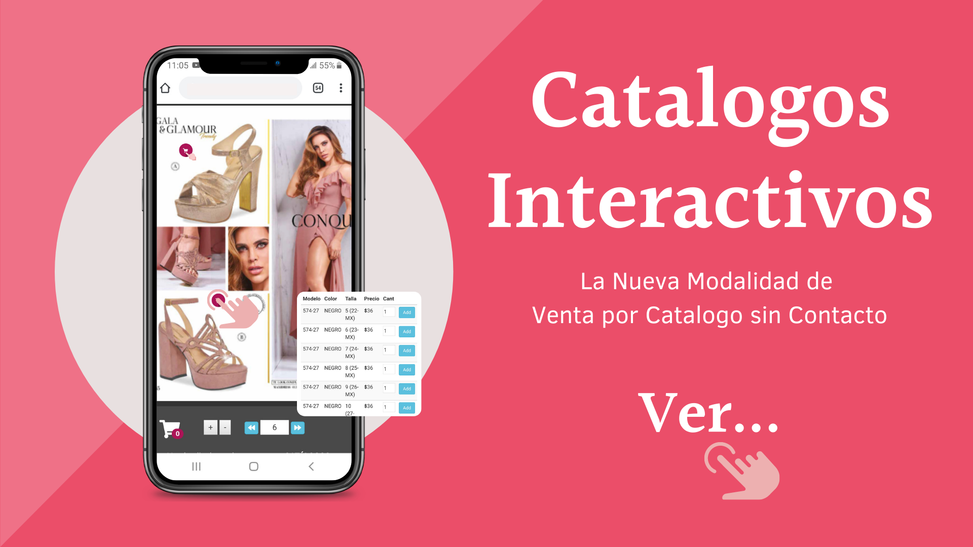 CATALOGO SIX & DUO PACK DIGITAL INTERACTIVO