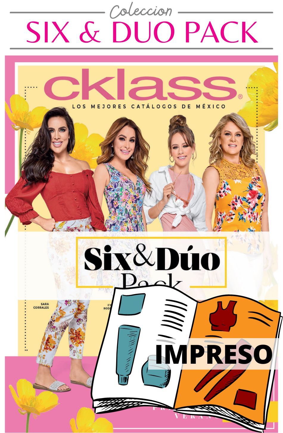 Catalogo Six & Duo Pack Cklass Impreso