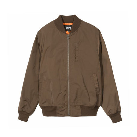 115407BROW GLEN BOMBER JACKET - BROW