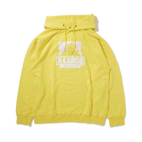 OG PULLOVER HOODED SWEAT 01191207 -  YELLOW