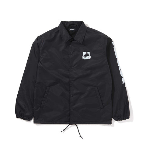 OG PRINTED COACHES JACKET  01191502 - BLACK