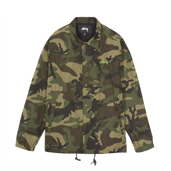 115402CAMO CRUIZE COACH JACKET - CAMO