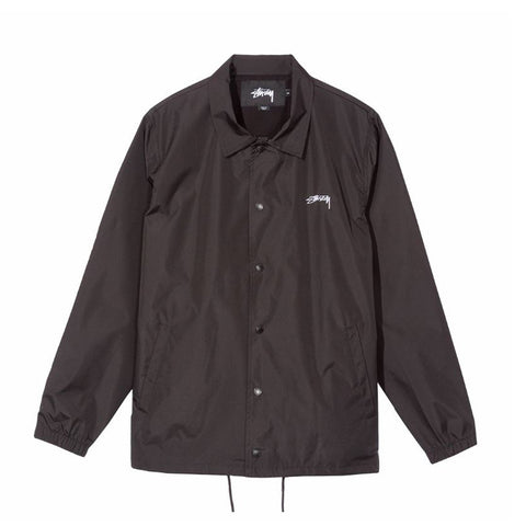 115394BLAC CRUIZE COACH JACKET - BLACK