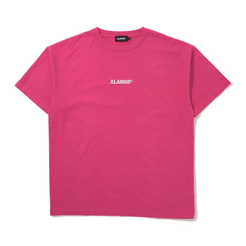 S/S TEE EMBROIDERY STANDARD LOGO 01191134 - PINK