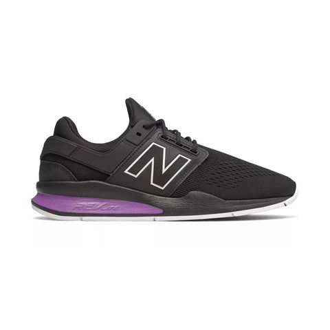 MS247TO Mens Sneakers - Black with Faded Violet