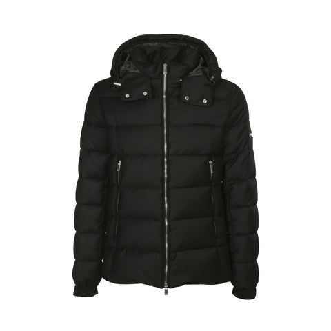 MAN'S DOWN JACKET DOMIZIANO MTA19A4289 - BLACK