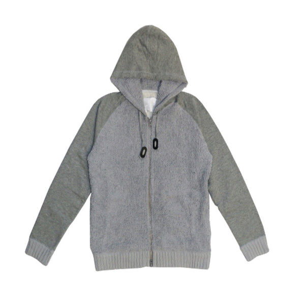 Cotton Blanket Hoodie Grey
