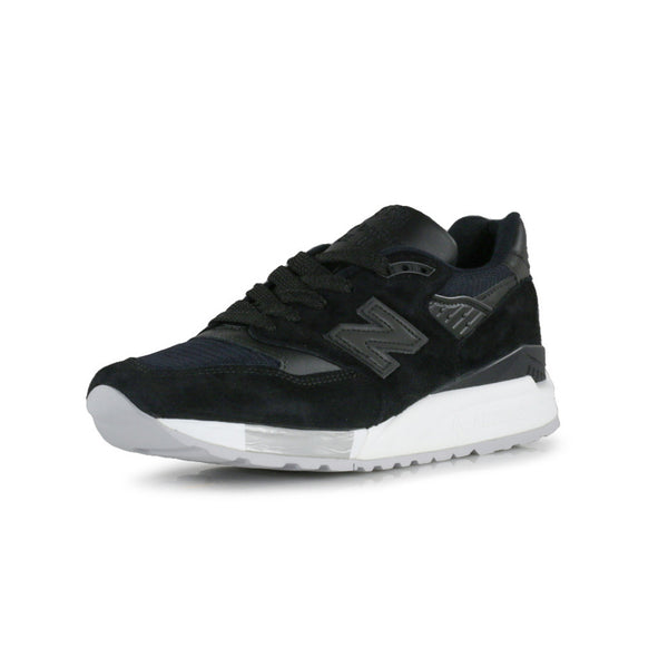 M998NJ Mens Sneakers - Black/Grey