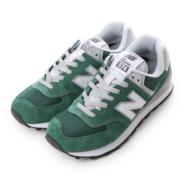 ML574VID Mens Hunter Suede Mesh -  Green/White