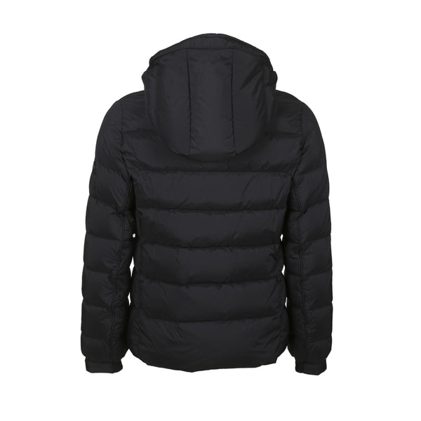 MAN'S DOWN JACKET BORBORE MTA19A4568 - BLACK