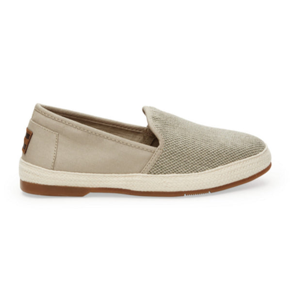AGATE CANVAS TEXTURED WOMEN'S SABADOS