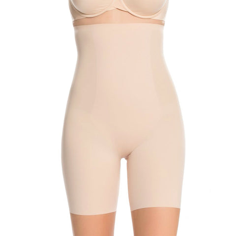 Thinstincts® High-Waisted Mid-Thigh Short - Soft Nude