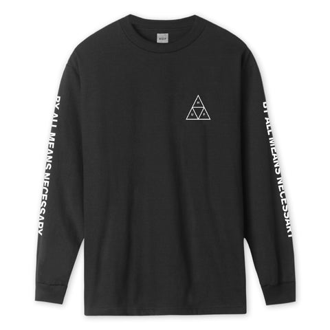 ESSENTIALS TT L/S TEE	Black