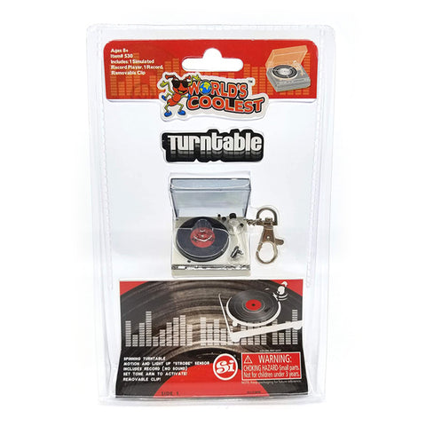 530	Turntable Keychain