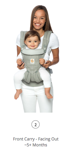 Omni 360 Baby Carrier All-In-One: Cool Air Mesh - Oxford Blue