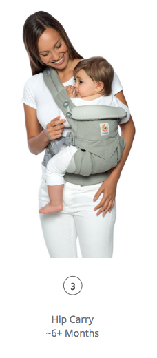 Omni 360 Baby Carrier All-In-One: Cool Air Mesh - Khaki Green