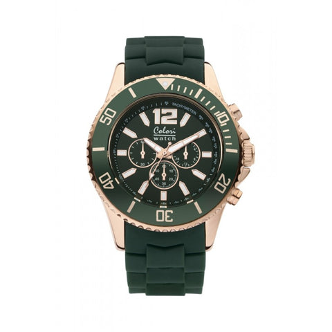 Colori Metal Watch 48 Racing Green
