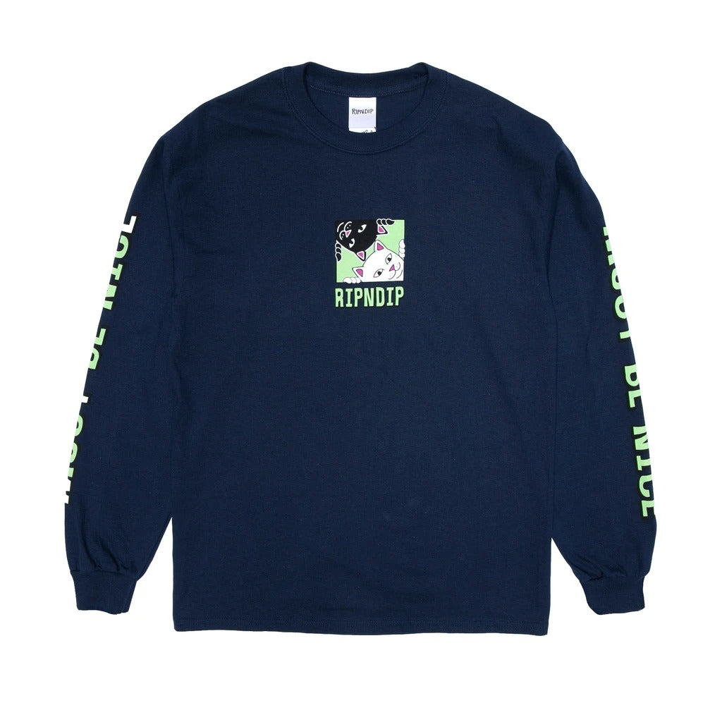 RND4551	Besties Long Sleeve - Navy
