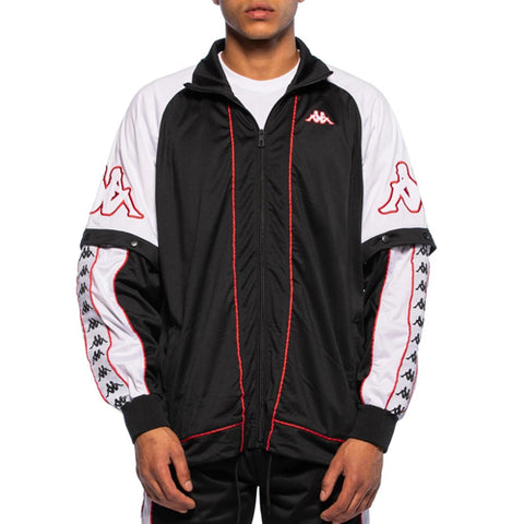 222 BANDA BIG BAY JACKET  /  BLACK-WHITE-RED
