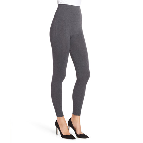 Look At Me Now Leggings - Charcoal Heather