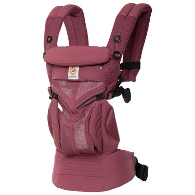 Ergobaby™ Omni 360 Cool Air Mesh Baby Carrier - Plum
