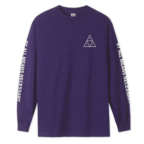 ESSENTIALS TT L/S TEE GRAPE
