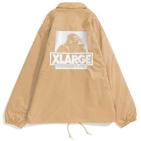 1193507	EMBROIDERY OG COACHES JACKET - BEIGE