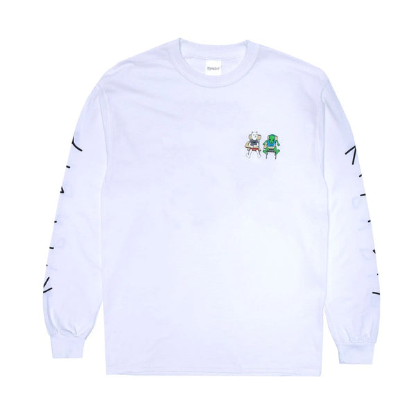 RND4550	Butts Up Long Sleeve - White