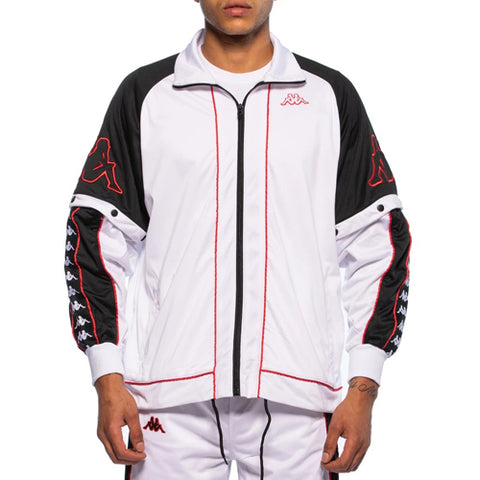 222 BANDA BIG BAY JACKET  /  WHITE-BLACK-RED
