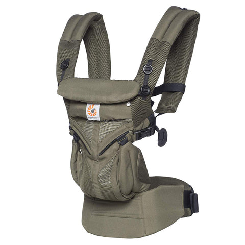 Ergobaby™ Omni 360 Cool Air Mesh Baby Carrier - Khaki Green