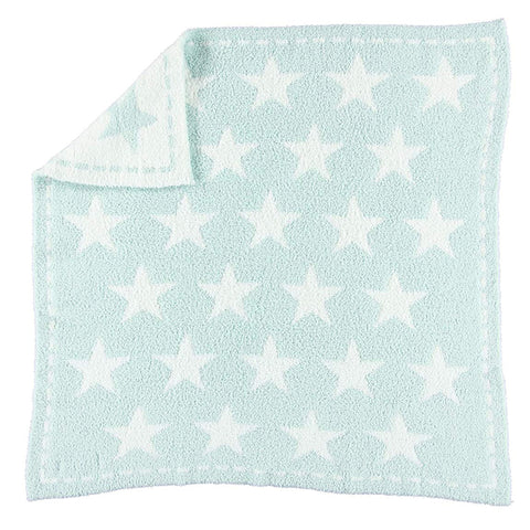 Cozychic Throw B531-44-ST - aqua ice/white star