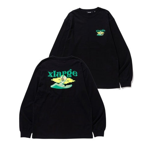 L/S TEE FLYING CARPET BLACK