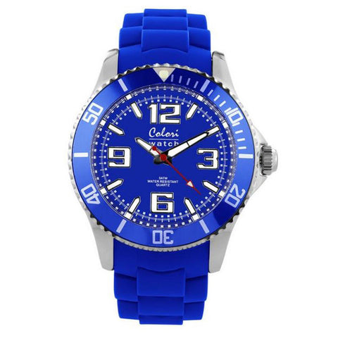 COLORI COOL STEEL WATCH MIYOTA QUARTZ