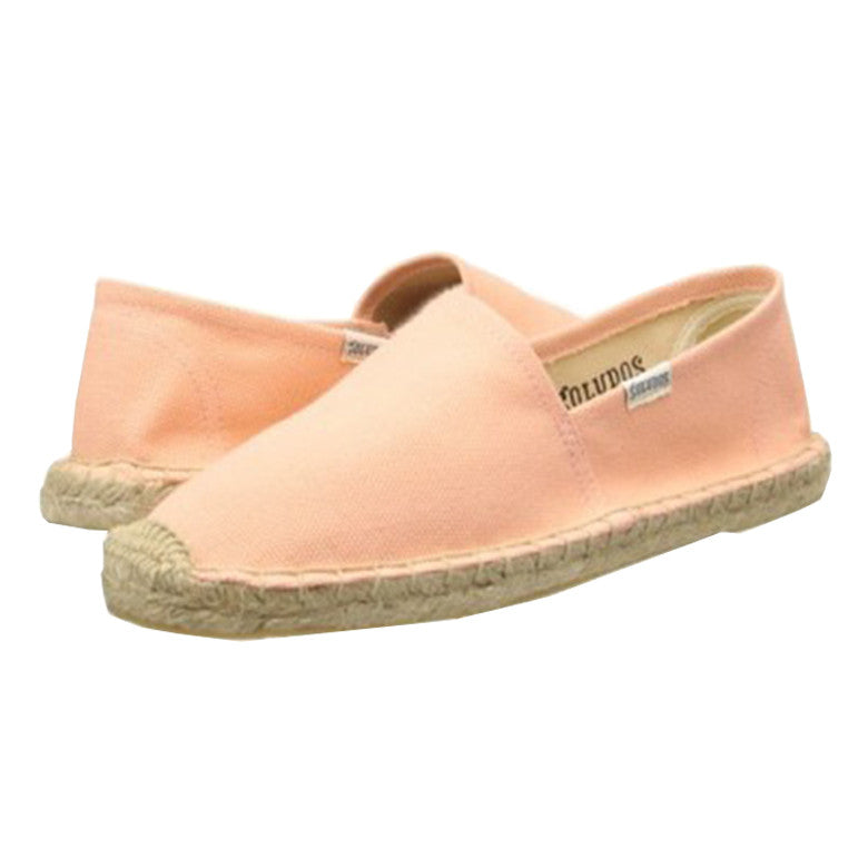 Original Canvas Dali Peach Espadrille Flat
