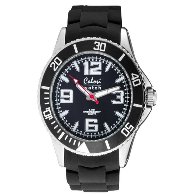 Colori Metal Watch 44 Black