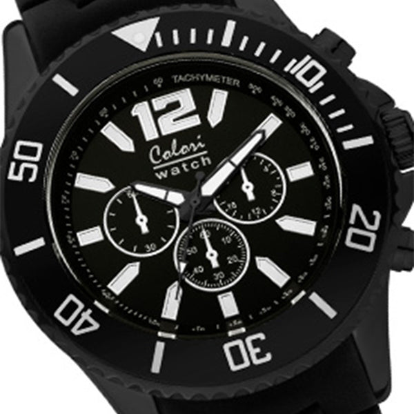 Colori Metal Watch 48 All Black Chronolook