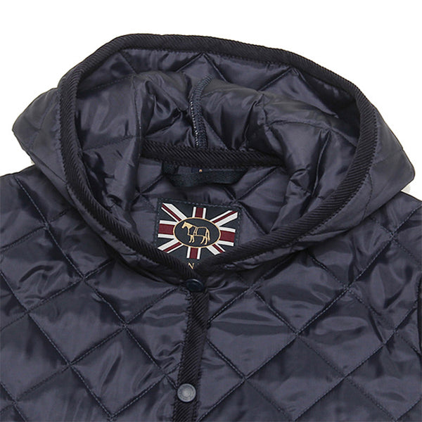 Women's Hooded Quilted Short Jacket