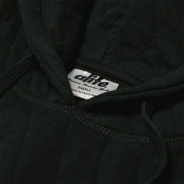 DIAMOND QUILT HOODY