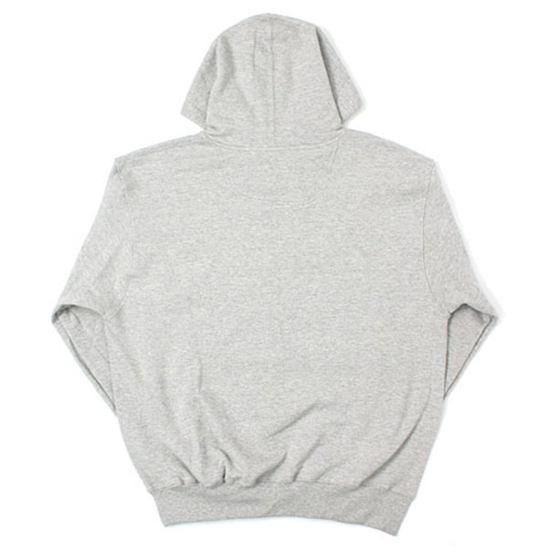 ECO FLEECE PULLOVER HOODIE SWEATSHIRT OXFORD GREY