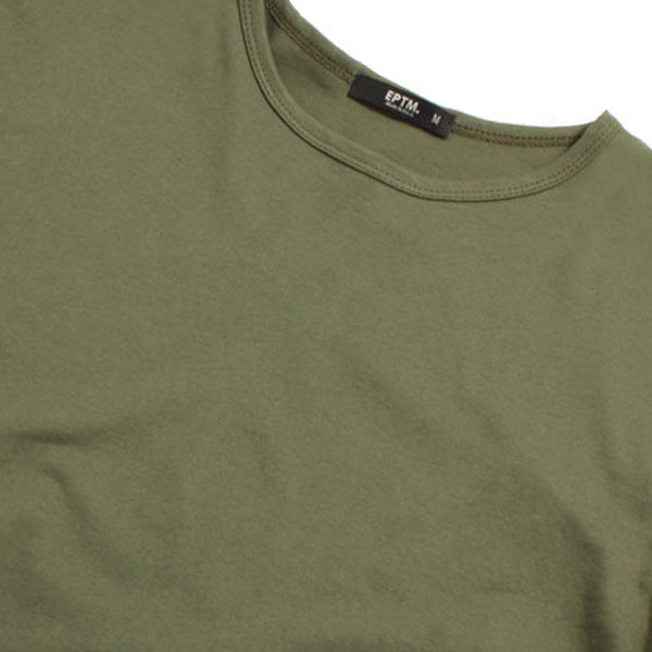 E LONG S/S TEE OLIVE
