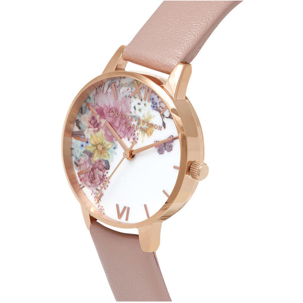 Enchanted Garden Vegan Rose Sand & Rose Gold OB16EG100