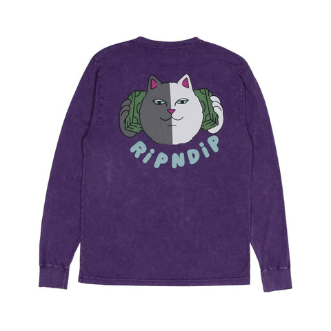 Money Talks L/S RND2952 (Purple Mineral Wash)